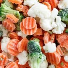mrozone warzywa