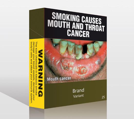 Australia Cigarette Labeling