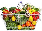 koszyk zdrowych produktów