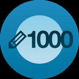 1000postów